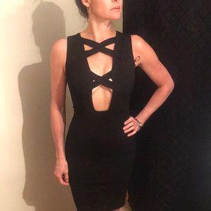 NWOT Akira BLACK LABEL Super SEXY Little Blk Dress